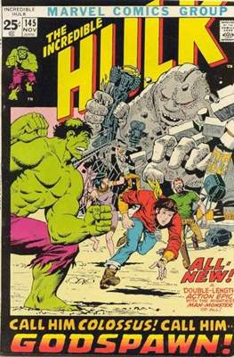 The Incredible Hulk Vol.1 (Saddle-stitched. 1962-1999) #145