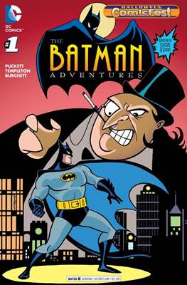 Batman Adventures #1. Halloween ComicFest 2015
