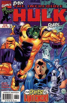 The Incredible Hulk Vol.1 (Saddle-stitched. 1962-1999) #473