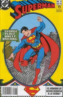 Superman: El Hombre de Acero / Superman Vol. 2 #72