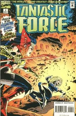 Fantastic Force Vol. 1 (1994-1996) (Saddle-stitched) #7