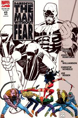 Daredevil: The Man Without Fear (Comic Book) #3