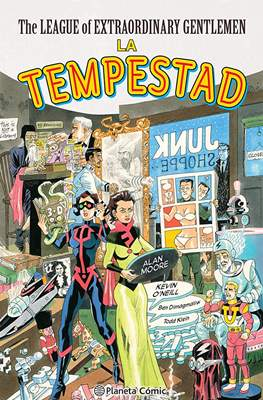 The League of Extraordinary Gentlemen: La Tempestad (Cartoné 192 pp)