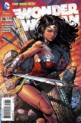 Wonder Woman Vol. 4 (2011-2016) (Comic Book) #36