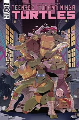 Teenage Mutant Ninja Turtles (2011-...) (Comic Book) #109