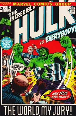 The Incredible Hulk Vol.1 (Saddle-stitched. 1962-1999) #153