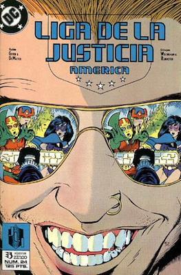 Liga de la Justicia / Liga de la Justicia internacional / Liga de la Justicia de America (1988-1992) (Grapa) #24