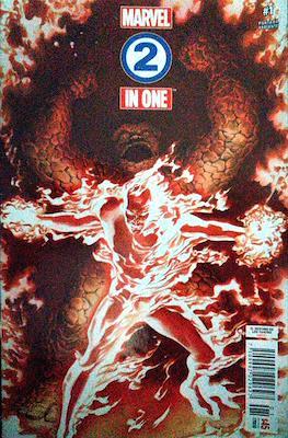 Marvel 2-In-One (2018-2019 Portada variante) (Grapa) #1