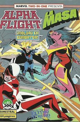 Alpha Flight Vol. 1 / Marvel Two-in-one: Alpha Flight & La Masa Vol.1 (1985-1992) #61