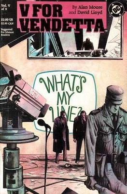 V for Vendetta (Comic Book) #5