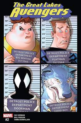 The Great Lakes Avengers Vol. 2 (Comic-Book) #2