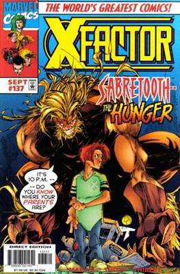 X-Factor Vol. 1 (1986-1998) (Comic Book) #137