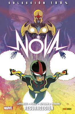 Nova. 100% Marvel (Rústica con solapas) #8