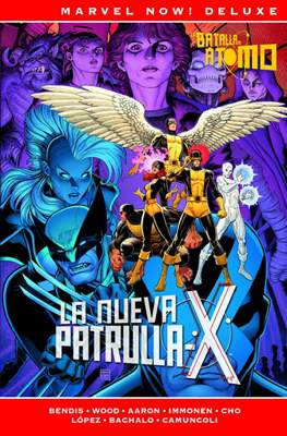 La Patrulla-X de Brian Michael Bendis. Marvel Now! Deluxe (Cartoné.) #3