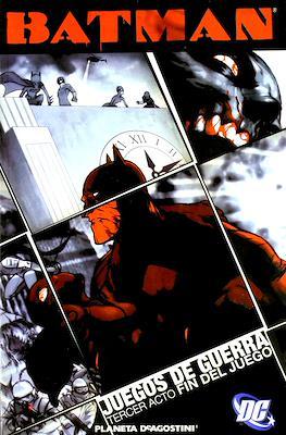 Batman: Juegos de guerra (Rústica 208) #3