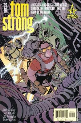 Tom Strong (Comic Book) #33