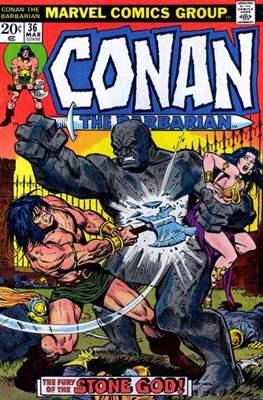 Conan The Barbarian (1970-1993) (Comic Book 32 pp) #36