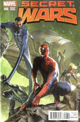 Secret Wars (2015) Variant Covers (Comic Book) #6.2
