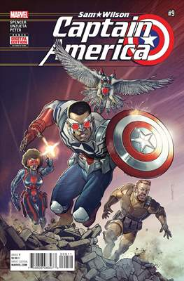 Captain America: Sam Wilson Vol 1 (Grapa) #9