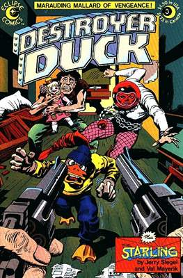 Destroyer Duck (Comic Book. 1982) #3