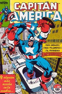 Capitán América vol. 1 / Marvel Two-in-one: Capitán America & Thor vol. 1 (1985-1992) (Grapa 32-64 pp) #20