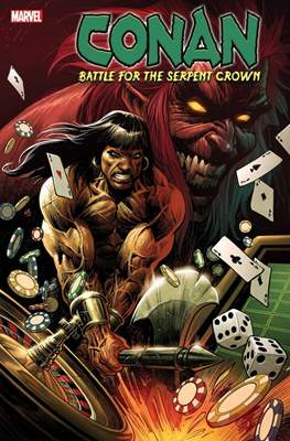 Conan: Battle for the Serpent Crown (Variant Cover) #1.1