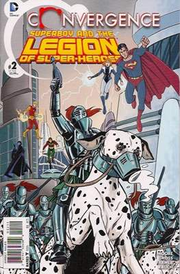 Convergence Superboy and the Legion of Super-Heroes (2015) (Saddle-stitched) #2