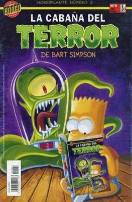 La cabaña del terror de Bart Simpson (Grapa 48 pp) #2