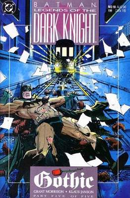 Batman: Legends of the Dark Knight Vol. 1 (1989-2007) (Comic Book) #10