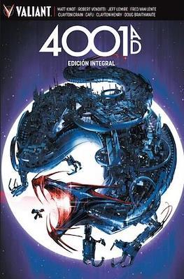 4001 A.D. Edición integral (Cartoné 320 pp) #
