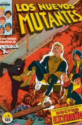 Los Nuevos Mutantes Vol. 1 (1986-1990) (Grapa 32-64 pp) #4