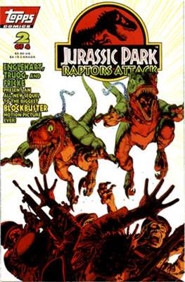 Jurassic Park Raptors Attack (Comic Book) #2