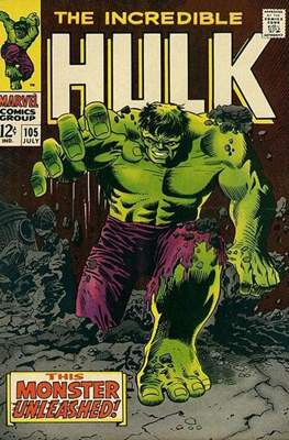 The Incredible Hulk Vol.1 (Saddle-stitched. 1962-1999) #105