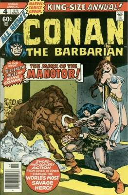 Conan The Barbarian Annuals (1973-1987) (Grapa, 48 págs.) #4