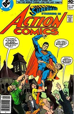 Action Comics Vol. 1 (1938-2011; 2016-) (Comic Book) #499