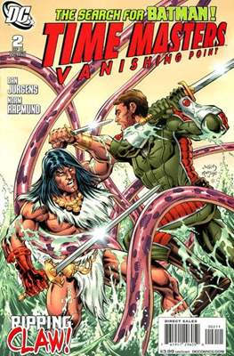 Time Masters: Vanishing Point (2010-2011) (Comic Book) #2