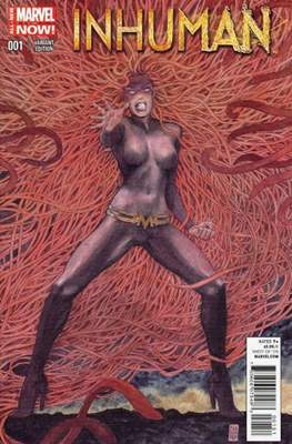 Inhuman (2014-2015 Variant Cover) (Comic Book) #1.3