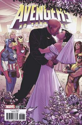 The Avengers Vol. 7 (2016-...Variant Covers ) (Grapa) #690