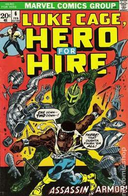 Hero for Hire / Power Man Vol 1 / Power Man and Iron Fist Vol 1 #6