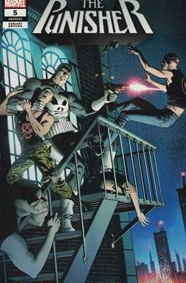 The Punisher (2018- Variant Cover) (Comic Book) #5