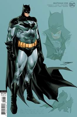 Batman Vol. 3 (2016- Variant Cover) #105.1