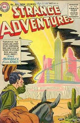 Strange Adventures (Comic Book) #61