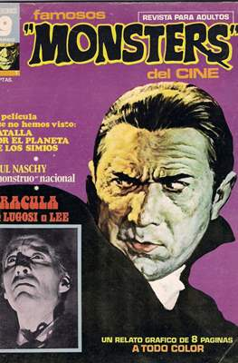 Famosos Monsters del Cine (Grapa , 66 páginas. 1975-1977) #1