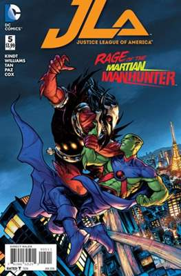 Justice League of America Vol. 4 (2015-2017) (Comic-book) #5