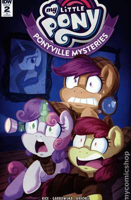 My Little Pony: Ponyville Mysteries (Variant Cover) (Comic Book) #2.1