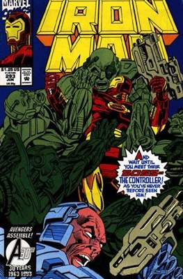 Iron Man Vol. 1 (1968-1996) (Comic book) #293