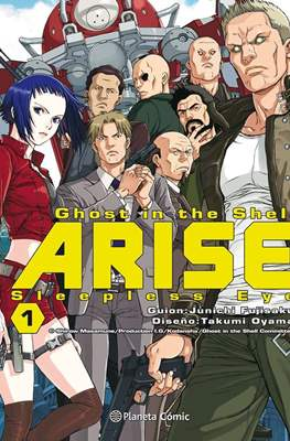 Ghost in the Shell Arise: Sleepless Eye (Rústica con sobrecubierta) #1