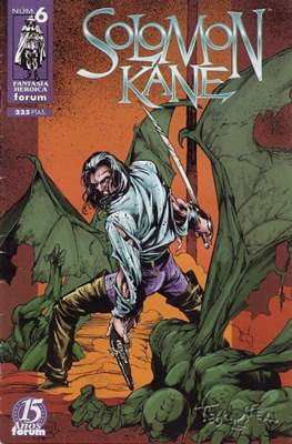Solomon Kane (1998) (Grapa. 17x26. 48/24/40 páginas. Color) #6