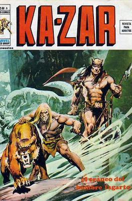 Ka-Zar (1974-1977) #6