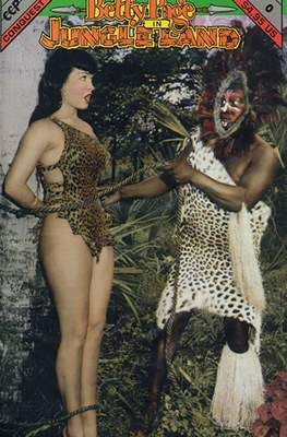 Betty Page In Jungle Land
